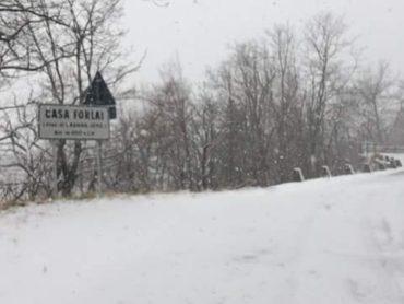 ALTO RENO TERME: E' arrivata la neve